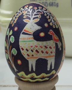 Purple Egg Deer