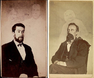 Alleged Spirit Pictures from the 1880s (from Wikimedia Commons)