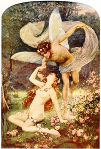 Aurora is the feminine embodiment of the dawn, and Zephyr is her lover, the summer wind.
